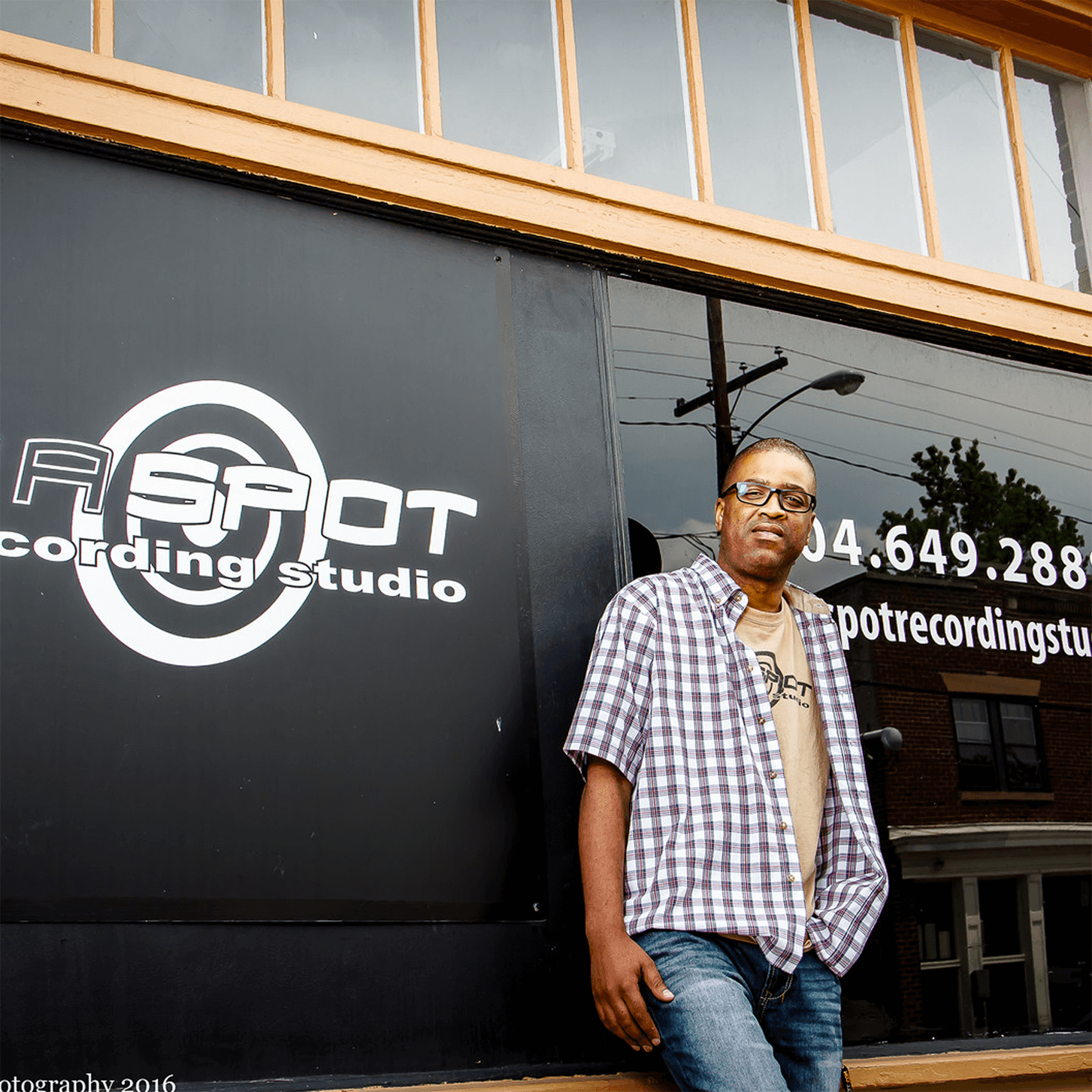 photo of Da Spot Recording Studio and co-founder Kelly Jones